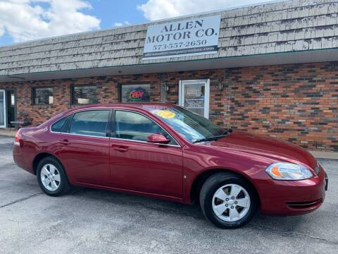 2008 Chevrolet Impala for sale at Allen Motor Company in Eldon MO