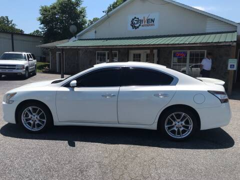 2014 Nissan Maxima for sale at Driven Pre-Owned in Lenoir NC