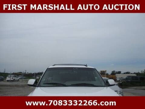 2006 Chevrolet Tahoe for sale at First Marshall Auto Auction in Harvey IL