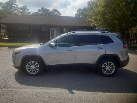 2019 Jeep Cherokee for sale at Victory Motor Company in Conroe TX