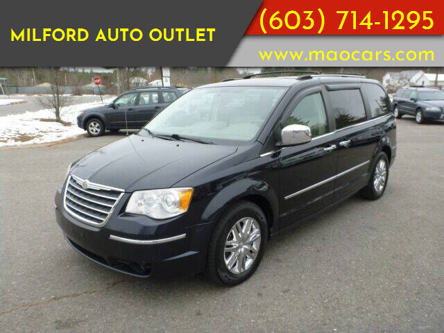 2010 Chrysler Town and Country for sale at Milford Auto Outlet in Milford NH