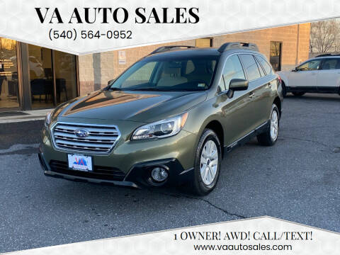 2016 Subaru Outback for sale at Va Auto Sales in Harrisonburg VA