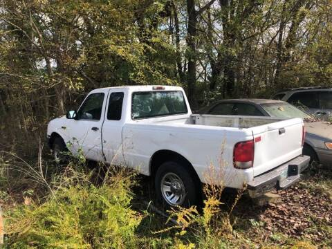 2001 Ford Ranger for sale at Wolff Auto Sales in Clarksville TN