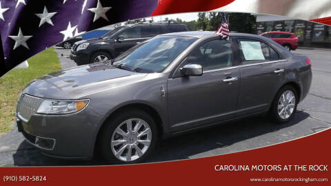 2011 Lincoln MKZ for sale at Carolina Motors at the Rock in Rockingham NC