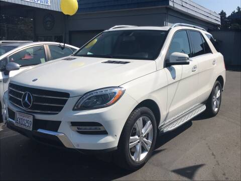 2013 Mercedes-Benz M-Class for sale at HARE CREEK AUTOMOTIVE in Fort Bragg CA