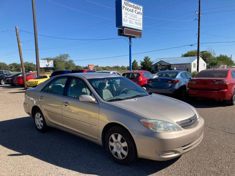 2004 Toyota Camry for sale at AFFORDABLY PRICED CARS LLC in Mountain Home ID