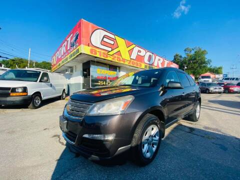 2013 Chevrolet Traverse for sale at EXPORT AUTO SALES, INC. in Nashville TN