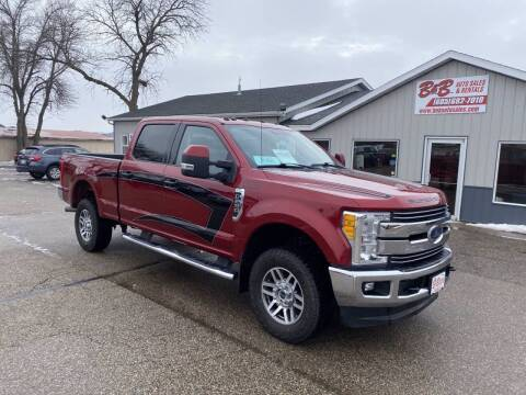 2017 Ford F-250 Super Duty for sale at B & B Auto Sales in Brookings SD