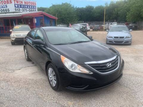2012 Hyundai Sonata for sale at Twin Motors in Austin TX