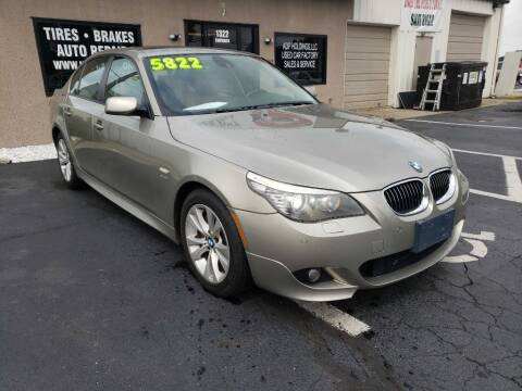 2009 BMW 5 Series for sale at Used Car Factory Sales & Service Troy in Troy OH