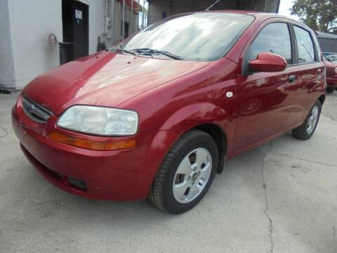 2006 Chevrolet Aveo for sale at Automax Wholesale Group LLC in Tampa FL