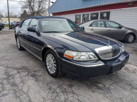 2003 Lincoln Town Car for sale at Peter Kay Auto Sales in Alden NY