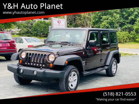 2013 Jeep Wrangler Unlimited for sale at Y&H Auto Planet in West Sand Lake NY