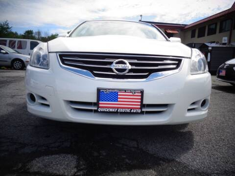 2012 Nissan Altima for sale at Quickway Exotic Auto in Bloomingburg NY