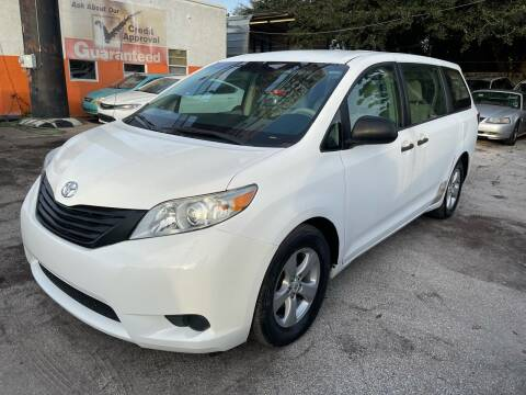 2011 Toyota Sienna for sale at P J Auto Trading Inc in Orlando FL