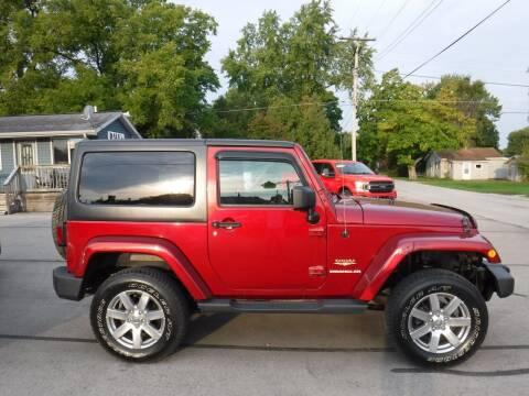 2013 Jeep Wrangler for sale at Dave's Car Corner in Hartford City IN