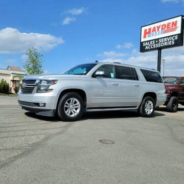2015 Chevrolet Suburban for sale at Hayden Cars in Coeur D Alene ID