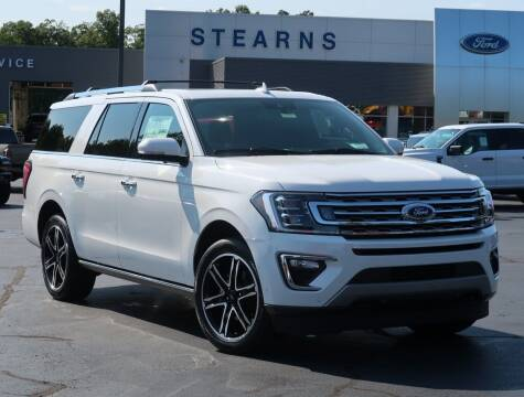2021 Ford Expedition MAX for sale at Stearns Ford in Burlington NC