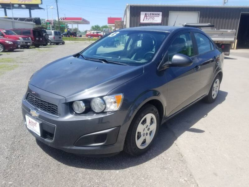 2013 Chevrolet Sonic for sale at ALEMAN AUTO INC in Norfolk NE