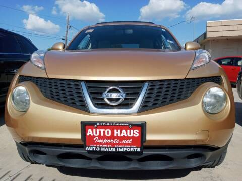 2013 Nissan JUKE for sale at Auto Haus Imports in Grand Prairie TX