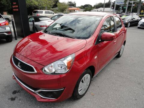 2019 Mitsubishi Mirage for sale at DeWitt Motor Sales in Sarasota FL
