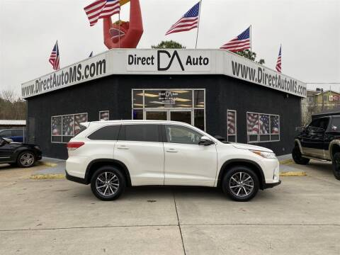 2017 Toyota Highlander for sale at Direct Auto in D'Iberville MS