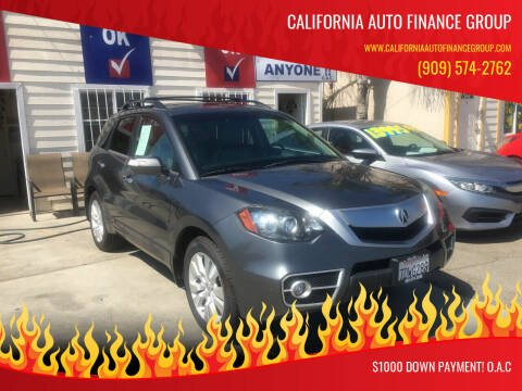 2011 Acura RDX for sale at CALIFORNIA AUTO FINANCE GROUP in Fontana CA