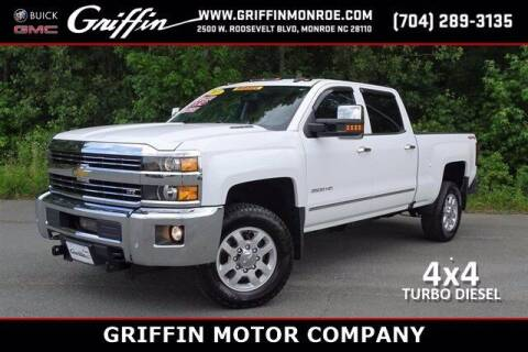 2015 Chevrolet Silverado 2500HD for sale at Griffin Buick GMC in Monroe NC