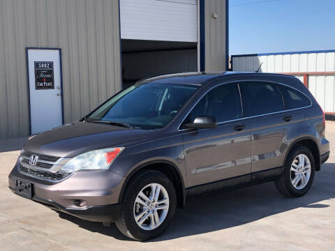 2010 Honda CR-V for sale at TEXAS CAR PLACE in Lubbock TX