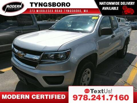 2019 Chevrolet Colorado for sale at Modern Auto Sales in Tyngsboro MA