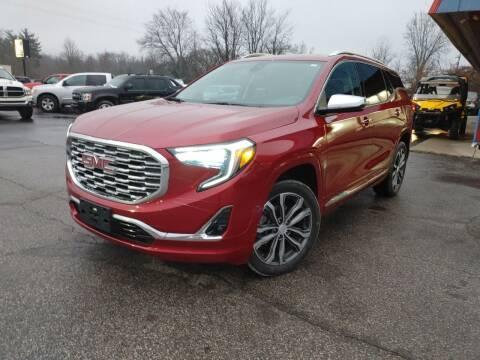 2018 GMC Terrain for sale at Cruisin' Auto Sales in Madison IN