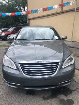 2012 Chrysler 200 for sale at GARET MOTORS in Maspeth NY