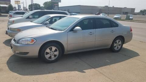 2006 Chevrolet Impala for sale at STERLING MOTORS in Watertown SD