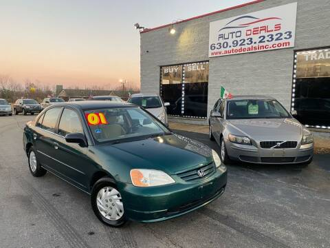 2001 Honda Civic for sale at Auto Deals in Roselle IL