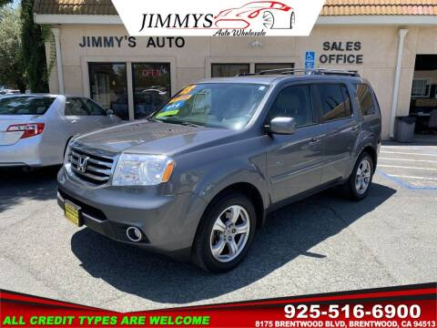 2013 Honda Pilot for sale at JIMMY'S AUTO WHOLESALE in Brentwood CA