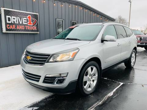 2013 Chevrolet Traverse for sale at Drive 1 Car & Truck in Springfield OH