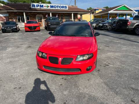 2004 Pontiac GTO for sale at RPM Motors in Nashville TN