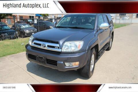 2005 Toyota 4Runner for sale at Highland Autoplex, LLC in Dallas TX