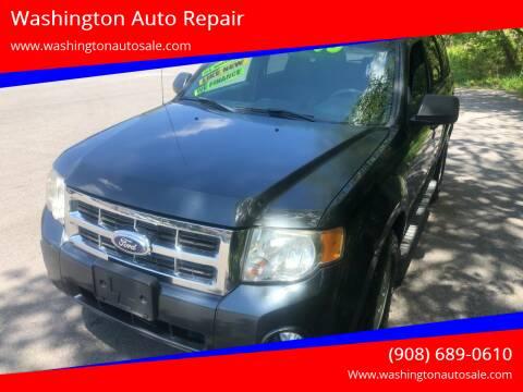 2008 Ford Escape for sale at Washington Auto Repair in Washington NJ