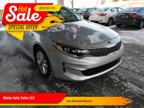 2016 Kia Optima for sale at Divine Auto Sales LLC in Omaha NE