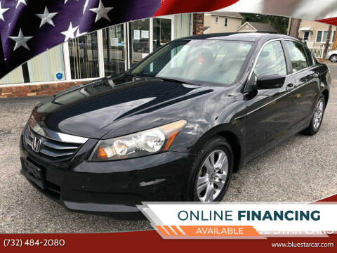 2012 Honda Accord for sale at Blue Star Cars in Jamesburg NJ
