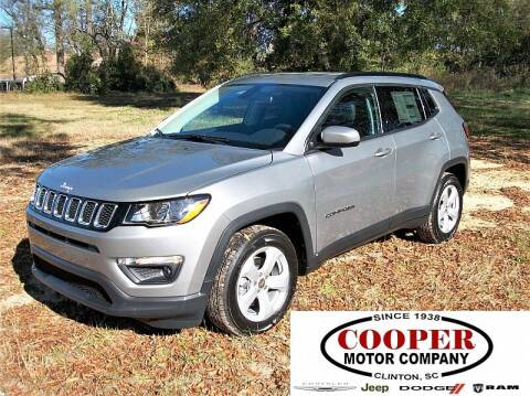 2021 Jeep Compass for sale at Cooper Motor Company in Clinton SC