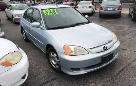 2003 Honda Civic for sale at Klein on Vine in Cincinnati OH