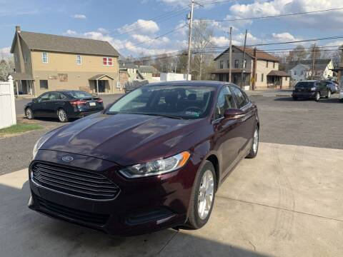 2013 Ford Fusion for sale at VINNY AUTO SALE in Duryea PA