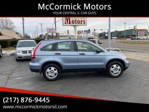 2008 Honda CR-V for sale at McCormick Motors in Decatur IL