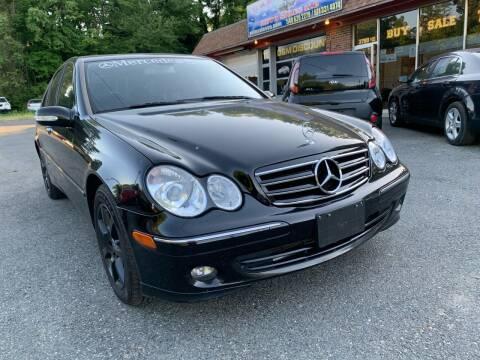 2007 Mercedes-Benz C-Class for sale at D & M Discount Auto Sales in Stafford VA
