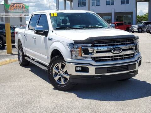 2018 Ford F-150 for sale at GATOR'S IMPORT SUPERSTORE in Melbourne FL
