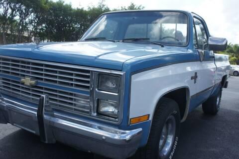 1984 Chevrolet C/K 10 Series for sale at Dream Machines USA in Lantana FL