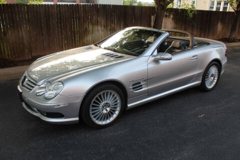 2004 Mercedes-Benz SL-Class for sale at CANTWEIGHT CLASSICS in Maysville OK