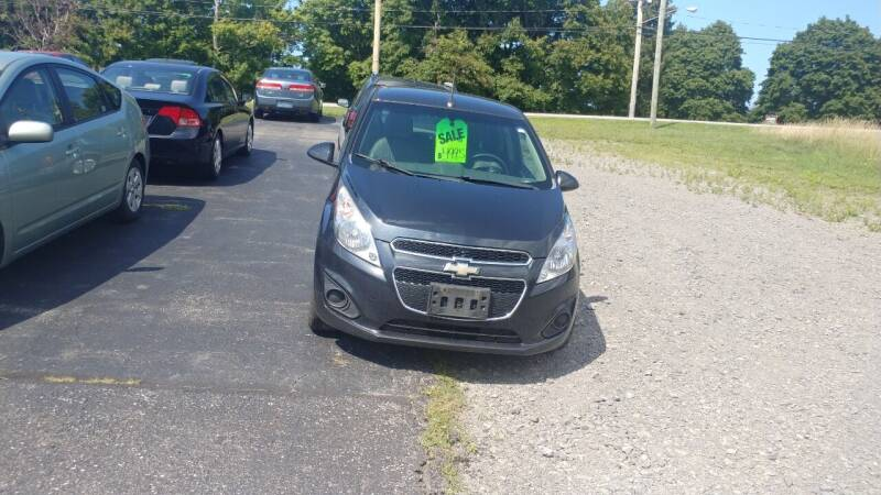 2013 Chevrolet Spark for sale at Pool Auto Sales Inc in Spencerport NY